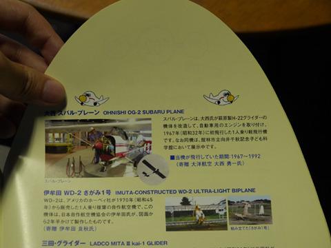 『大西スバル・プレーン』は航空科学博物館に所蔵され、今は向井千秋記念子ども科学館に移されている