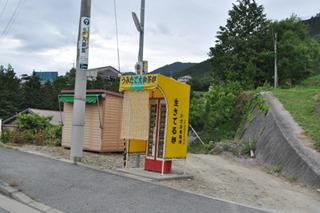 玉子の自販機をまた発見。