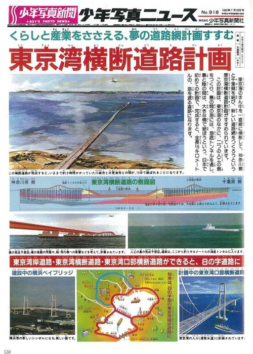 東京湾横断道路計画。今でいうところのアクアラインってやつだ。