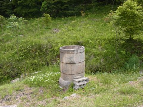 貞子が出てきそうな井戸があるぞ! と恐る恐る中を覗いたら単なる土管だった。無駄なドキドキを返してほしい