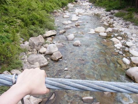 そのあとまた橋まで行ってくれたが途中でUターンされてしまい、一人綱を握りしめる…マリちゃんどっか行っちゃったんだもの