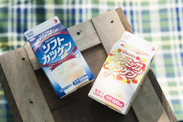 北海道から名前としてはおなじみ「ソフトカツゲン」。「フルーツミックスカツゲン」 というのもあった。雪印メグミルクが北海道限定で販売している乳酸菌飲料