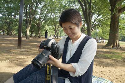 「コロカル」ほか「anan」やマガジンハウス社刊の書籍でも活躍されているカメラマン山口さん!