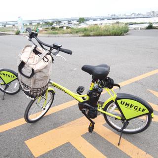 翌日、梅田で電動自転車を借りて、赤川鉄橋を目指す。