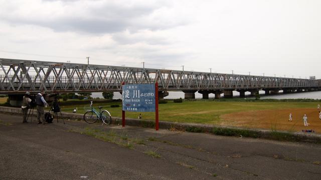 ばーん、淀川再び!