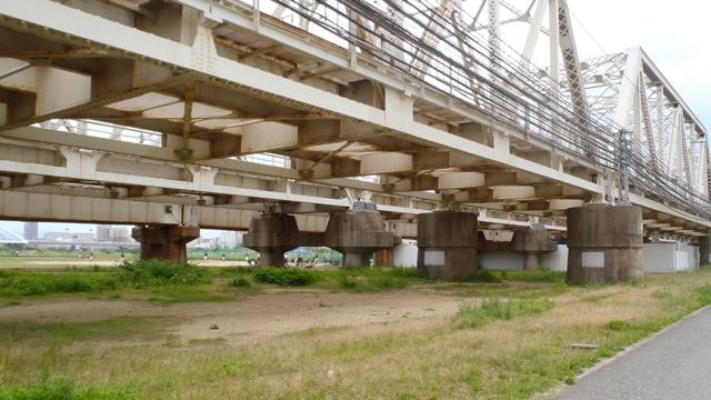 この、淀川を渡る橋の橋脚がいちいちかっこいいのだが、これも本題とは関係ないので先を急ごう。