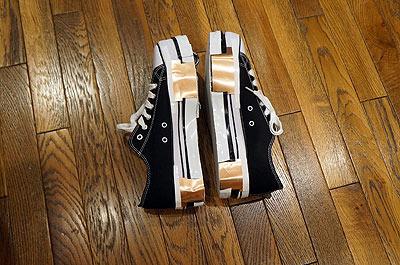 そういう紆余曲折を経て、完成した靴がこちらです