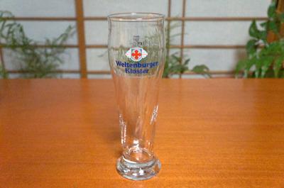 ヴェルテンブルガーという銘柄のグラスをご準備いたしました