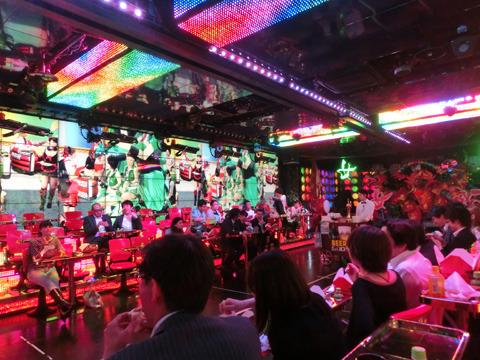 ロボットレストラン会場