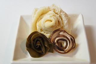 最高に地味な薔薇の花束
