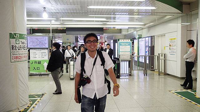 東京駅にやってきました!