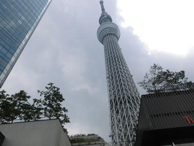 次は東京スカイツリーにやってきた
