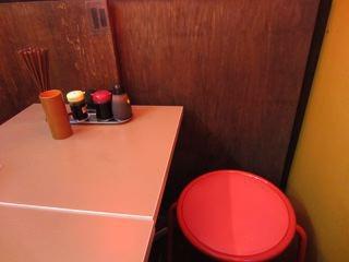 立ち飲みなのに、椅子席がありました。何故!?