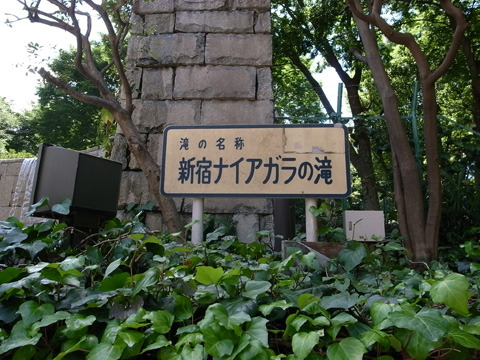 新宿ナイアガラの滝