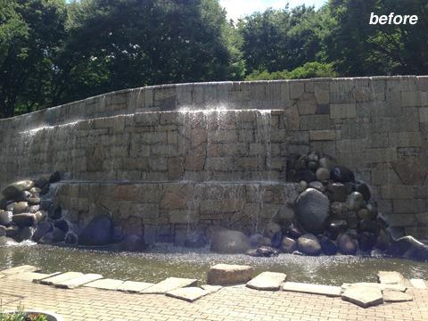 普段のナイヤガラの滝