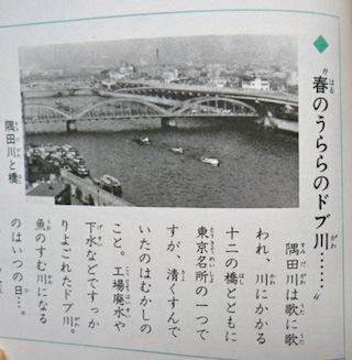 隅田川もドブ川よばわり