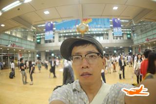 名古屋駅着。疲れた……(5時間00分後)