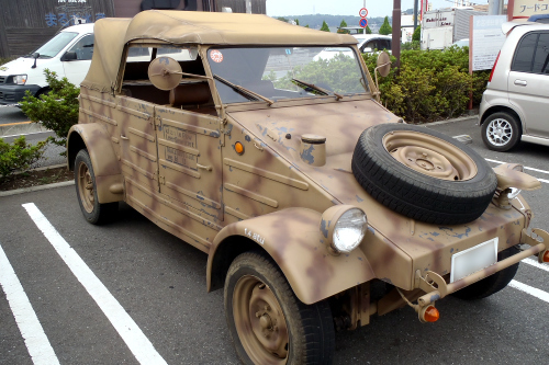 ショッピングセンターの駐車場にあった車が気になった