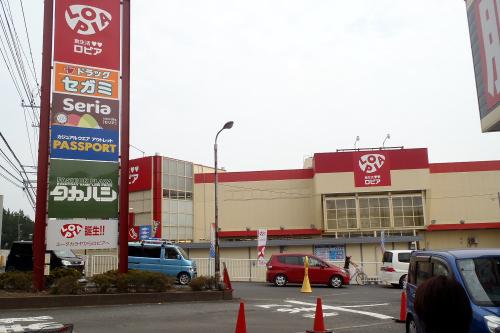 これまた、どこにでもある感じのスーパーである