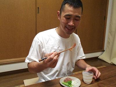 マグロの甘酒漬けも日本酒に合う!