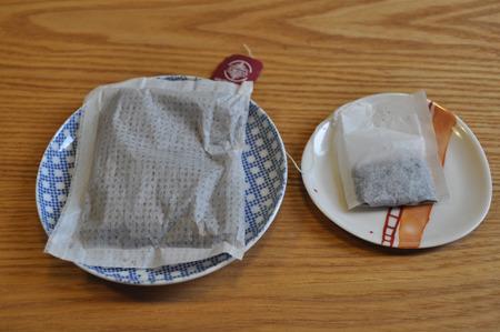 ティーパックもティーバッグもほぼ同じじゃん。