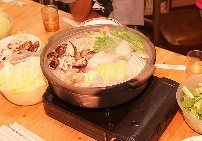 ちなみに鍋の底には、具材が焦げ付かぬようカミツキガメの甲羅が敷かれていたそうだ。