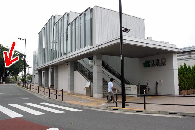 逆に現代では新しい駅の駅前一等地になっていた