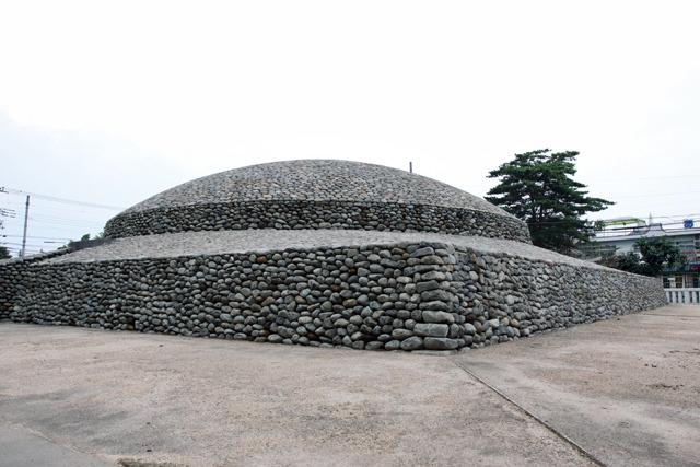円墳以外の構造の古墳を初めて見た