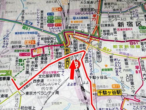 こういうルートで渋谷まで運行する