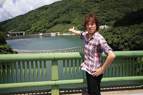 思った以上に広かった唐川さんの散歩コース。ありがとうございました。