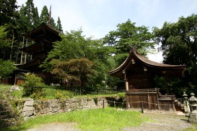 五稜郭同様、新海三社神社もまた見応えがあった