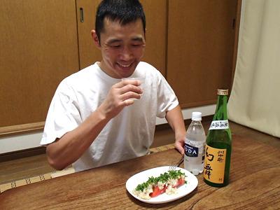 暑い夏にはいいね。割水した日本酒の燗をオススメしている酒造もあります。