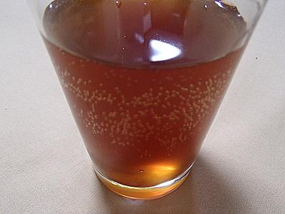 シュワシュワポン酢。