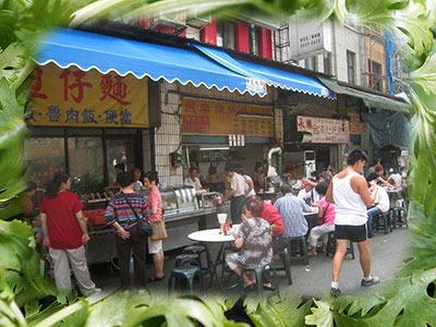 台湾の朝食屋台