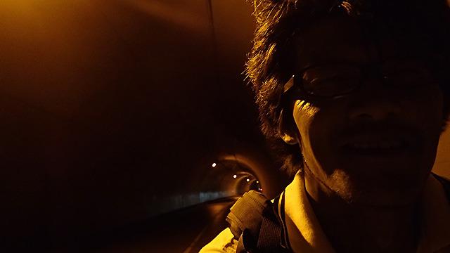山が多いのでトンネルも多い。自転車で抜けようとすると暗くてとすごく怖いから注意。