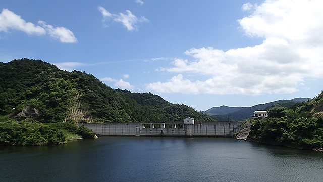 隠岐の島にはダムもあった。