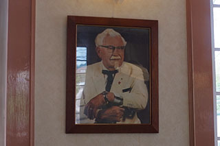 店内に飾られている絵も。