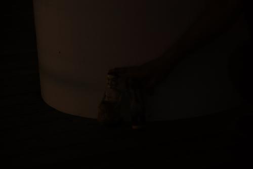 フィギュア撮影は断然暗くなった。(湘南港灯台と同じ設定で撮影)