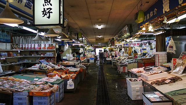 境港水産物直売センター(鳥取県境港市昭和町9ー5)