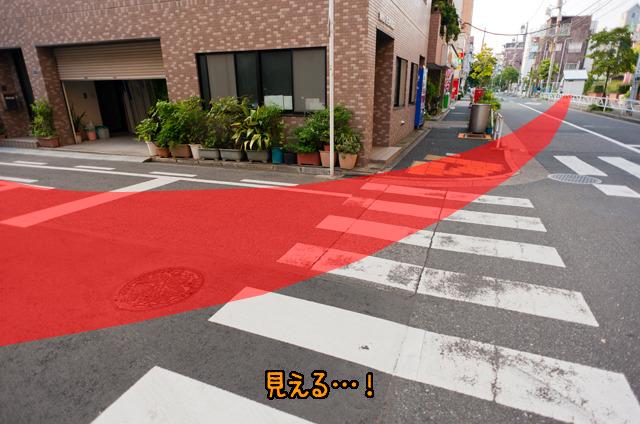 ただ、半ばを過ぎたあたりから、地図見なくても道路に円周が「見えて」くるようになった。覚醒!