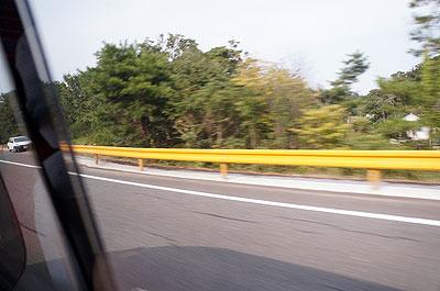 初めて来た山口の第一印象は「フェンスが黄色い」という超どうでもいい情報
