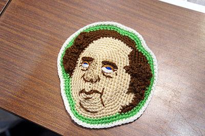 あとさくらいさんは会場でなぜかペリーを編んでいた
