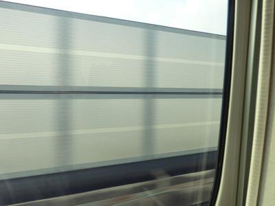 じっさいの車窓風景はほぼこんなだ