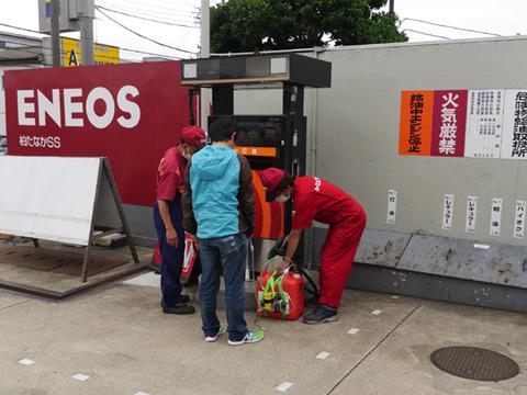 「何に使うんですか、ジェットエンジン!?」ガソリンスタンドの人もそりゃおどろくわ