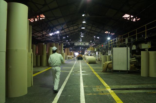 そしてさあ、いよいよ工場だ。