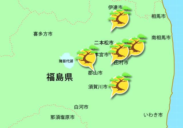 一本松銀座、福島。