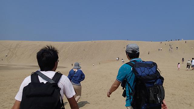 砂丘、思った以上なのだ。