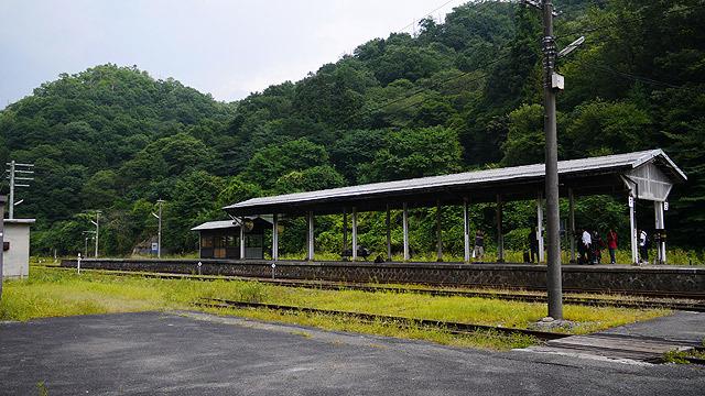 木次線の終点「備後落合駅」