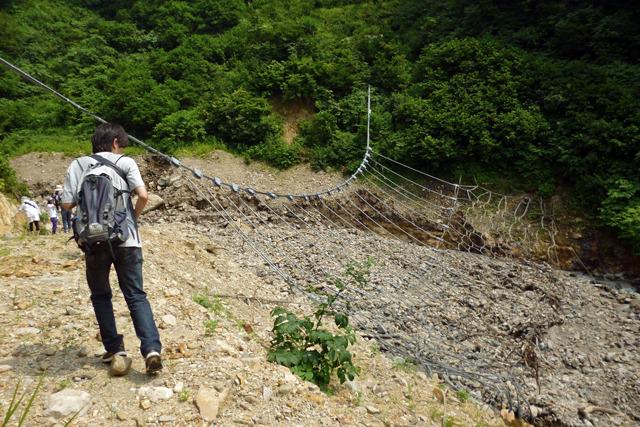 そして究極的に写真に撮りづらい砂防ダムでもある