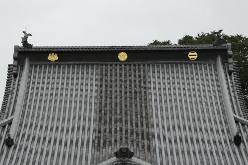 近年修理され、屋根も新しく葺き替えられた